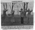 Members of the Archery team
