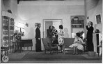 Production of a farce by Noel Coward of Blithe Spirit, at the centre's theatre.