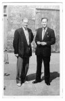 Mr J B Macey and Don Dye in 1956/7