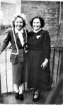 2 ladies from Holland who attended a Sunday conference of The Youth Council held at the centre. Contributed by John Harboard