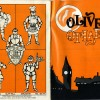 Programme of the musical Oliver in 1985