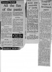 Rosetta production newspaper cuttings